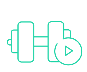 workout habit icon